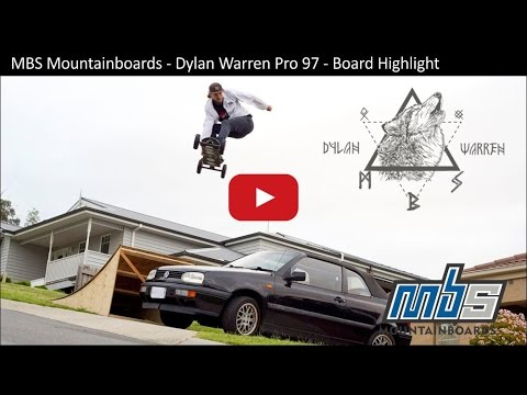 MBS Mountainboards - Dylan Warren Pro 97 - New Board Hype