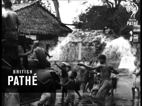 Water Festival In Burma (1946)