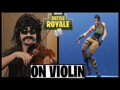 FORTNITE DANCES ON VIOLIN - PART 2