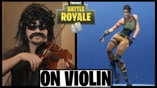 FORTNITE DANCES ON VIOLIN - PART 2