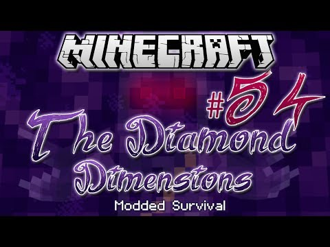 """FLATULENCE QUEST""   Diamond Dimensions Modded Survival #54   Minecraft - Smashpipe Games"