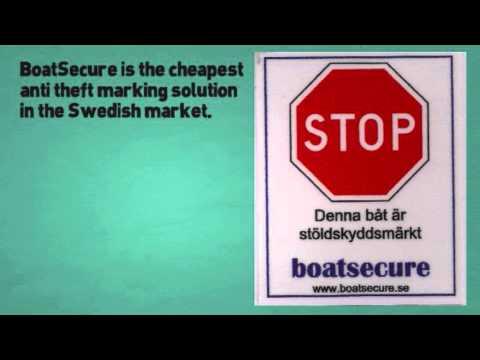 BoatSecure - Stöldskydd av båtar
