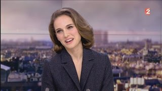 "NATALIE PORTMAN : INTERVIEW "" LAURENT DELAHOUSSE "" / LE 24/01/2016 . HD"