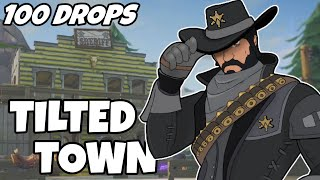 100 Drops - [Tilted Town]