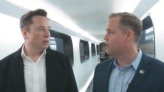 Elon Musk's Nasa Interview