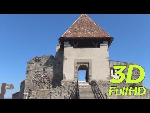 [3DHD] Walking Tour/Gyalogtúra: Visegrad Castle / Fellegvár, Visegrád, Hungary / Magyarország