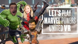 Let's Play Marvel Powers United VR - CHRIS IS GIANT NOW