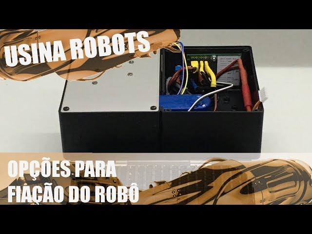 OPÇÕES PARA FIAÇÃO DO ROBÔ | Usina Robots US-2 #082