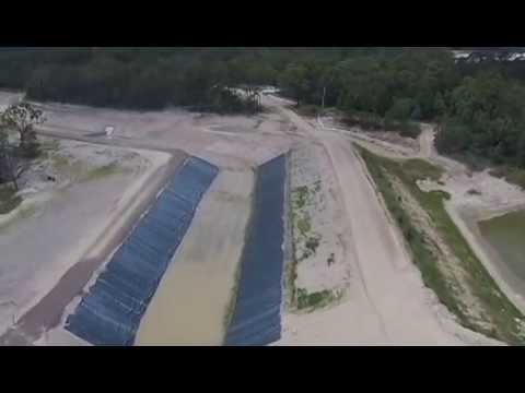 Black Creek Diversion Channel Flythrough