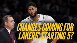 Changes Coming To The Lakers Starting Lineup?