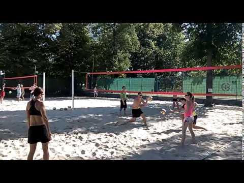 Beach Centrum - beachcamp pro mírně pokročilé (30. 8. 2015)