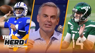 Sam Darnold deserves fair shot in Carolina, Zach Wilson wins in Jets trade — Colin | NFL | THE HERD