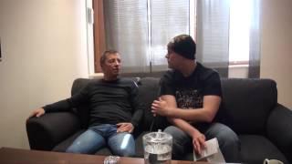 Phil Rudd (Ex-AC/DC) Interview @ Vaasa, Finland 14.4.2017