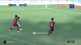 VietNam 1 - 2 Cambodia | AFF U18 CHAMPIONSHIP 2019 FULL HD | GROUP B | 15/08/2019