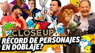 Simba, Rico McPato, Pitufos, Yoda y más: Arturo Mercado (Close Up)
