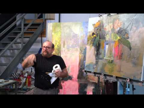 Braitman Studio's January 2016 Monthly Video Lesson: How to Layer Wet on Wet Paint