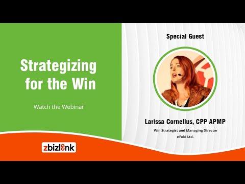 Strategizing for the Win | Zbizlink Webinar