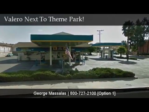 Valero Gas Station Next To A Theme Park Property!