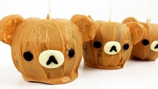 Rilakkuma Caramel Apples | リラックマのキャラメルアップル