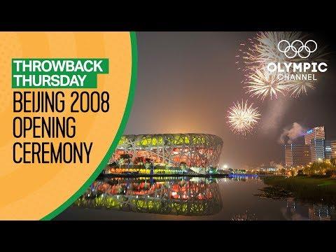 Full Opening Ceremony from Beijing 2008 | Throwback Thursday