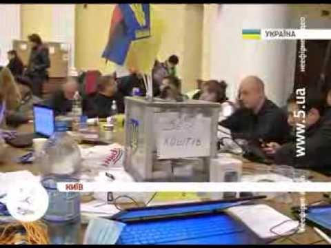 Друга ніч в КМДА. #Євромайдан