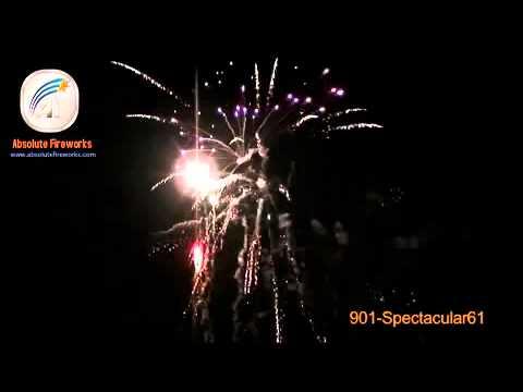 Absolute Fireworks AF61 Spectacular - 61 Shot barrage