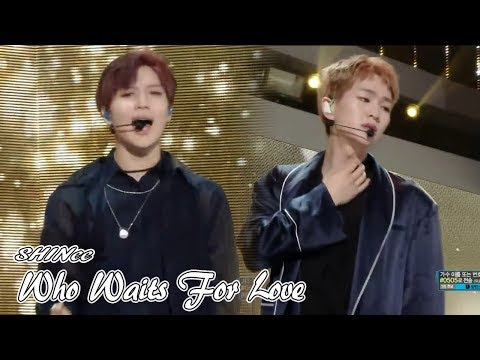 [Comeback Stage] SHINee - Who Waits For Love  , 샤이니 - 독감  Show Music core 20180616