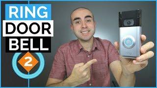 Ring Doorbell 2 Review & Video Footage - Best Doorbell Camera?