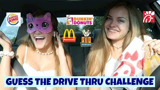 Guess the Drive Thru Challenge ~ Jacy and Kacy