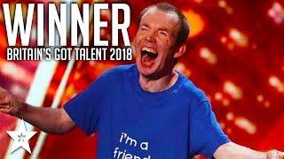WINNER   Lost Voice Guy   Britain's Got Talent 2018   Got Talent Global