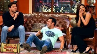 Salman Khan Jai Ho SPECIAL PICTURES on Comedy Nights with Kapil 19th January 2014 FULL EPISODE