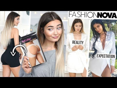 TRYING ON KYLIE JENNER'S OUTFITS FROM FASHION NOVA... WAS IT WORTH IT!?
