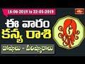 Virgo Weekly Horoscope By Dr Sankaramanchi Ramakrishna Sastry | 16 June 2019 - 22 June 2019