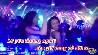 Karaoke Trach Ai Vo Tinh Remix   Saka Truong Tuyen
