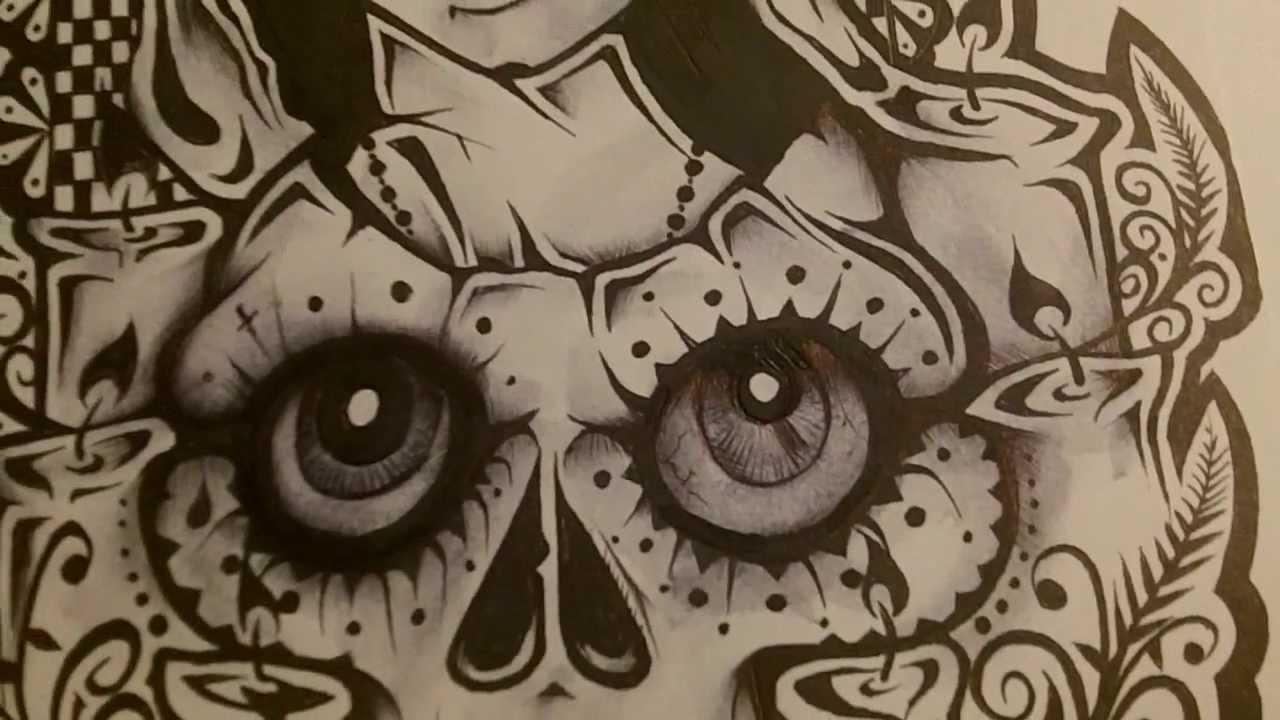 Tato Art Styles: Lowrider Cali Art Style RICO Graffiti Tattoo Drawings