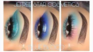 BLUE BLOOD 💙 Makeup Tutorials | Jeffree Star Cosmetics