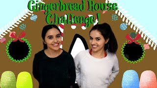 Gingerbread House Challenge | No Hands!