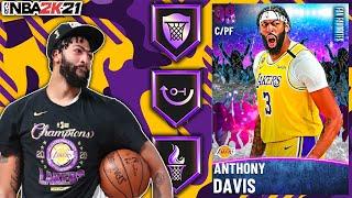 DARK MATTER ANTHONY DAVIS GAMEPLAY! IS ADISNEY THE BEST CENTER IN NBA 2K21 MyTEAM?!?