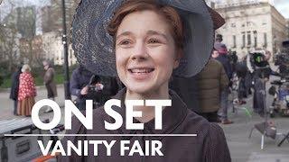Vanity Fair Behind the Scenes (with Tom Bateman, Claudia Jessie & More) | On Set