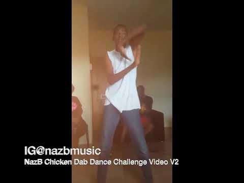NazB Chicken dab dance challenge Video