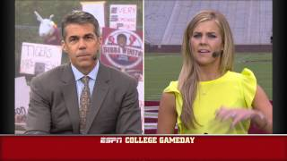 Samantha Ponder's (nee Steele's) Comments On Jameis Winston On ESPN College Gameday
