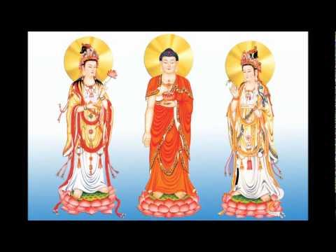 Nhạc niệm phật không lời 4 chữ hồng danh A Di Đà Phật