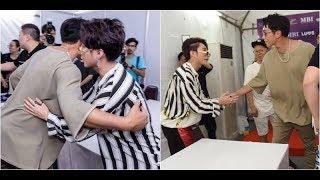 Bi Rain thân thiện, bắt tay, ôm chầm Sơn Tùng M-TP ở Viral Fest Asia - Tin tức của sao