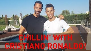 Chillin' with Cristiano Ronaldo | Rio Vlogs