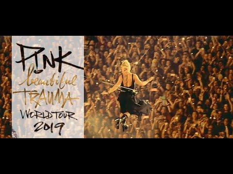 P!ink   Beautiful Trauma Tour 2018 full concert