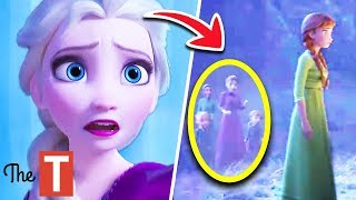 10 Things Everyone Missed In NEW Frozen 2 Trailer