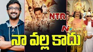 Director Teja out from Nandamuri Balakrishna's NTR Biopic?..
