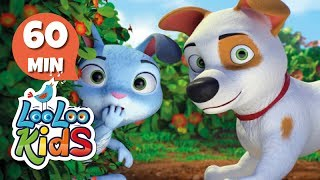 Bunny Hop - Awesome Songs for Children | LooLoo Kids