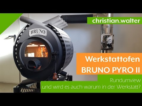 Werkstattofen | BRUNO Pyro III | Warmluftofen | 19 kW