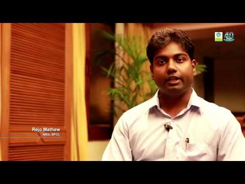 Rejo Matthew on his experience with BPCL